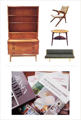 北欧・英国のヴィンテージ家具+くらしの洋書