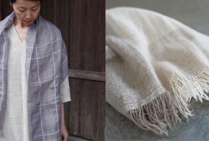 早春の布・衣  maki textile studio