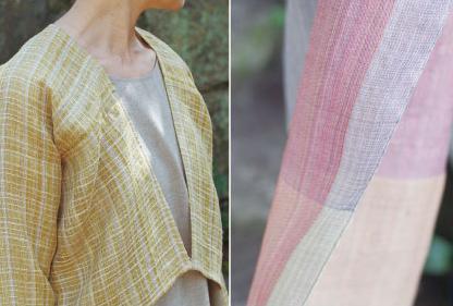 Maki Textile Studio 春の布・衣