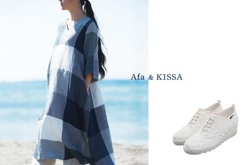 Afa 真砂 三千代 & KISSA 高田 喜佐