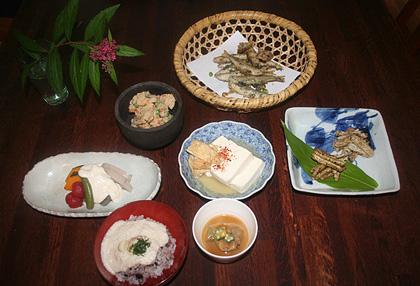 大原千鶴の京のうちごはんの料理写真